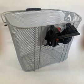 Кошик City basket VR express click silver incl. bracket швидкознімний, 330 x 260 x 240 mm срібний