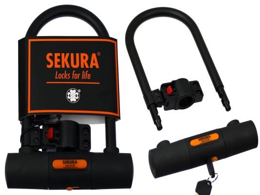 Замок shackle lock (U-lock) KB 305 180X24,5cm Sekura