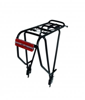 Багажник  alloy model Magline Trekking алюмінієвий, для 26 і 28 дюймів, (фара в комплект НЕ входить)