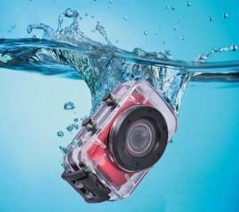 Спортивний відеореєстратор 120°, 1.3 Mega Pixels CMOS 1280*720, гермообкс, кріплення на руль, шолом