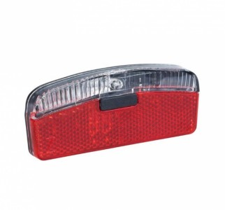 Rote 66 1 LED задня фара для динамовтулки, BUCHEL