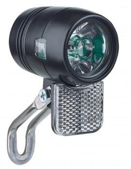 Sport eco 20 LUX передня фара для динамовтулки, BUCHEL