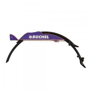 Крила пластикові Kunststoff 28 (профіль 46 мм) чорні комплект BUCHEL