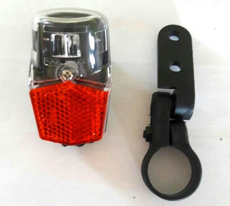 FL 12 1 LED задня фара з кріпленням на трубу, BUCHEL, для динамо