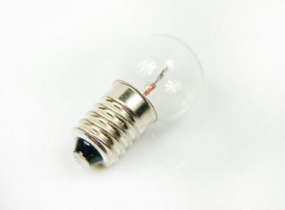 Лампочка для задніх вело фар 6V/0.6W з різьбою
