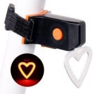 Задня фара СТОП для велосипеда X3 червоний акум Li-ion, micro USB