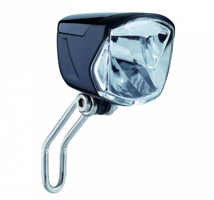 Secu Forte 70 LUX + standlight + sensor, передня фара для динамовтулки, BUCHEL